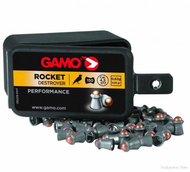 diabole gamo rocket destroyer 4,5mm
