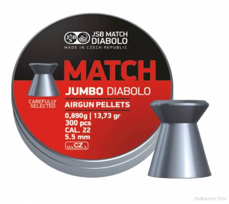 diabole jsb jumbo match 5,5mm