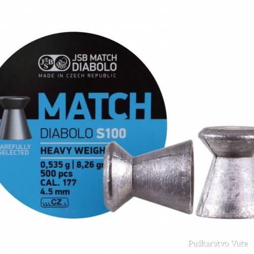 diabole jsb match s100 4,5mm
